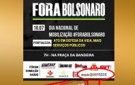 SOMOS A FAVOR DO FORA BOLSONARO